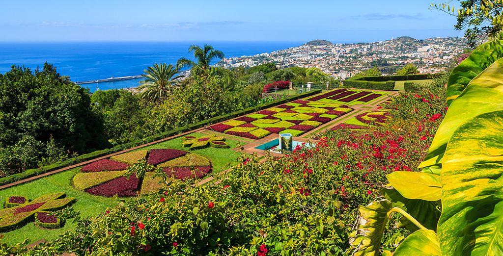 Wir wünschen Ihnen schöne Momente auf der Insel der Blumen!