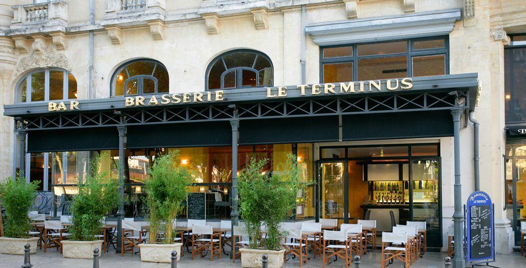 Sie wohnen im Hotel Le Terminus