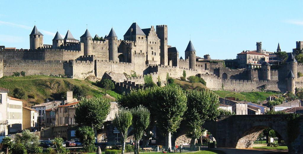 Wir wünschen Ihnen einen schönen Aufenthalt in Carcassonne !