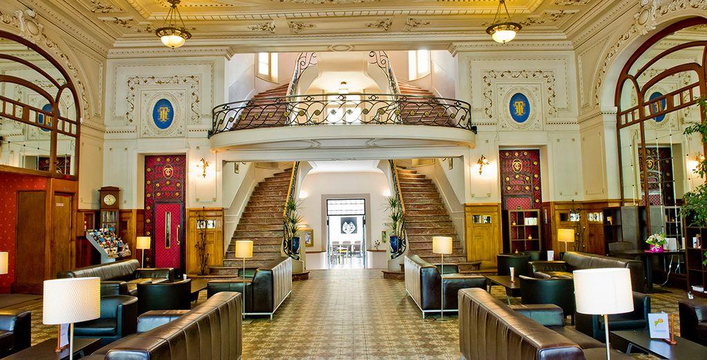 Das Hotel ist elegant und stilvoll gestaltet