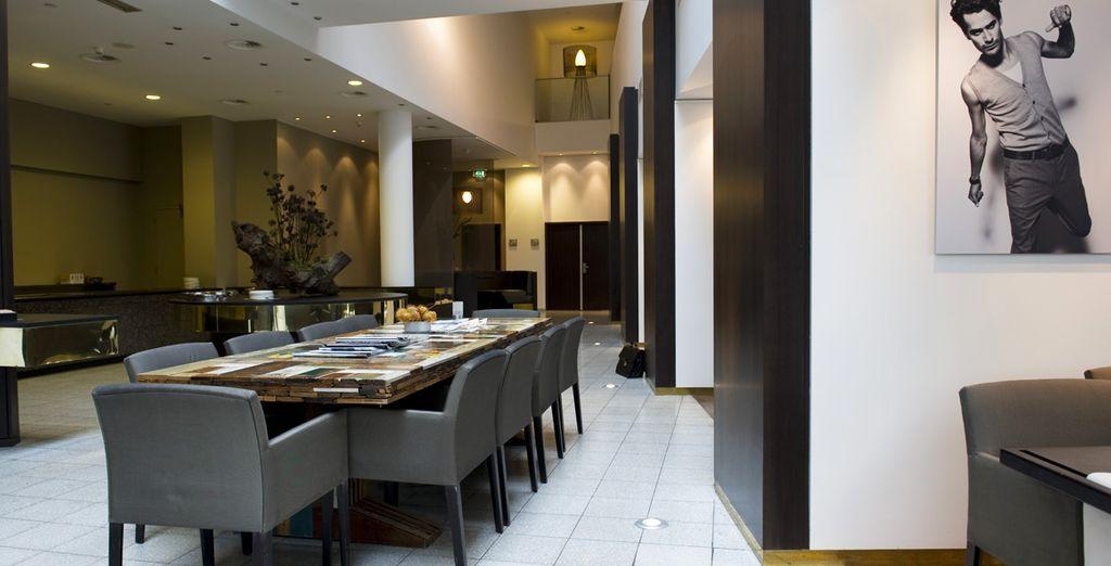 Kunst und Design sind in jedem Zimmer vorzufinden