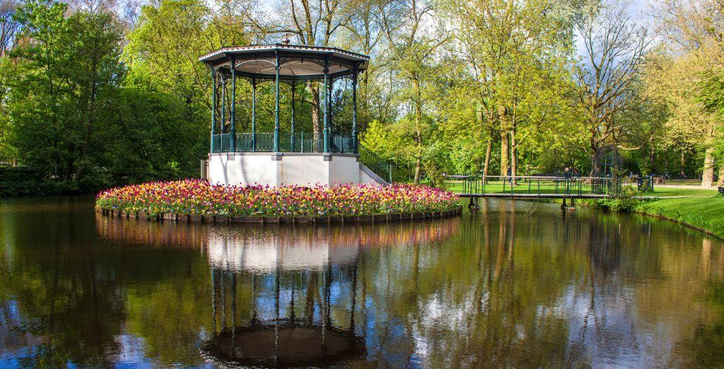 Genießen Sie Ihren Aufenthalt in Amsterdam!