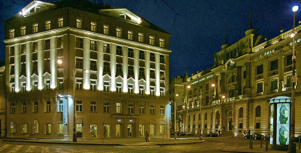 Im 987 Design Hotel in Prag