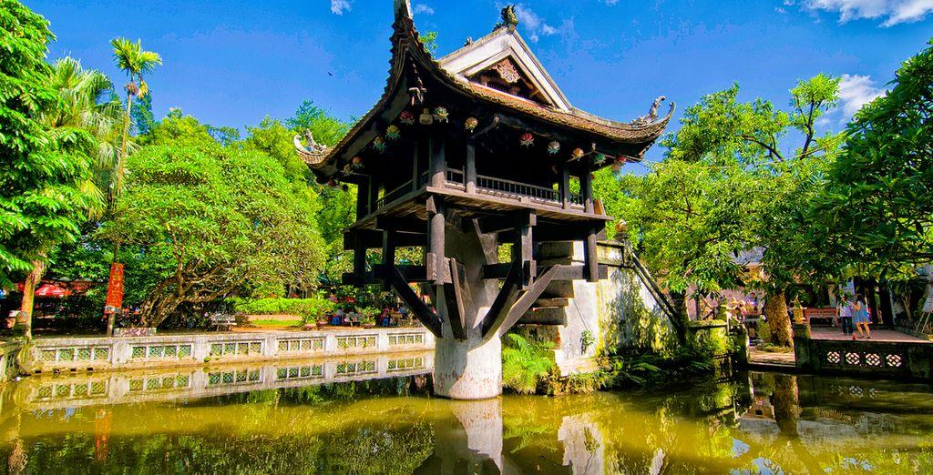 Besichtigen Sie buddhistische Tempel