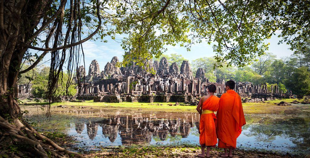 Lernen Sie Kambodscha und Vietnam kennen