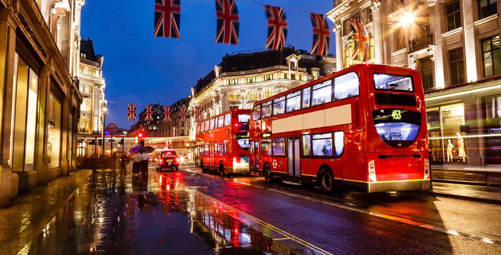 Gute Reise in die britische Hauptstadt!