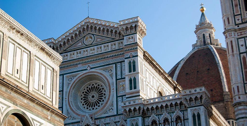 Entdecken Sie die architektonischen Schätze von Florenz ...