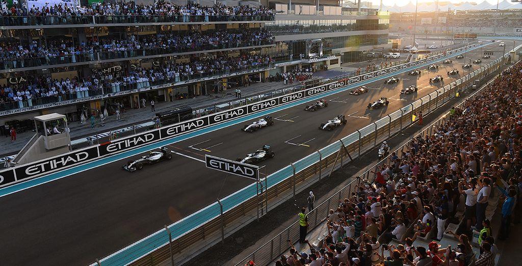 Willkommen beim Formel 1 Rennen in Abu Dhabi!