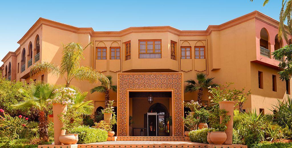 Das IBEROSTAR Club Palmeraie Marrakech 4* begrüßt Sie!