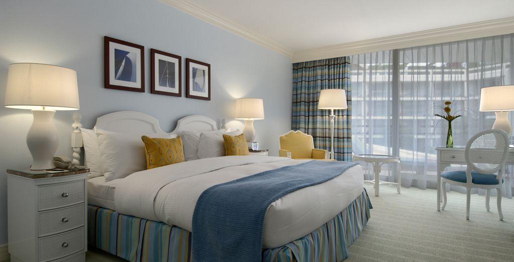 Wählen Sie das Fairmont Zimmer mit Gartenblick