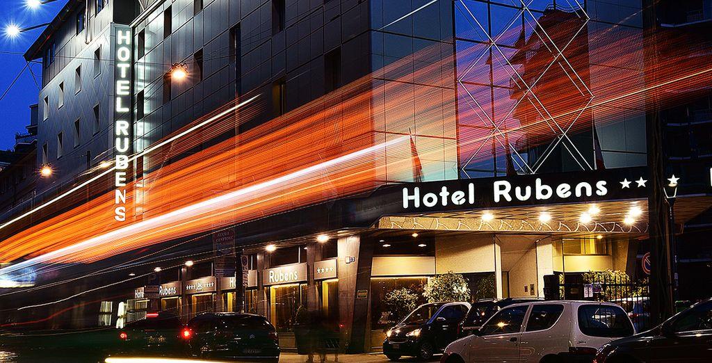 Das Antares Hotels Rubens begrüßt Sie herzlich!