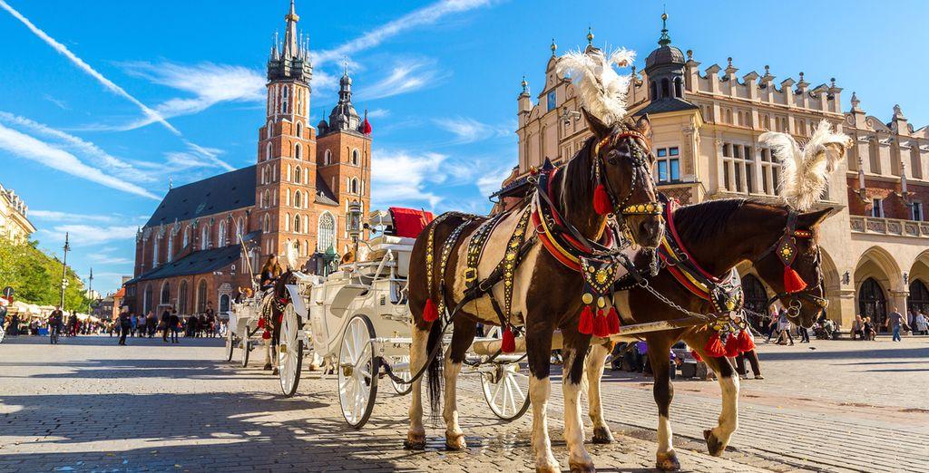 Willkommen in der kulturellen Hauptstadt Polens!