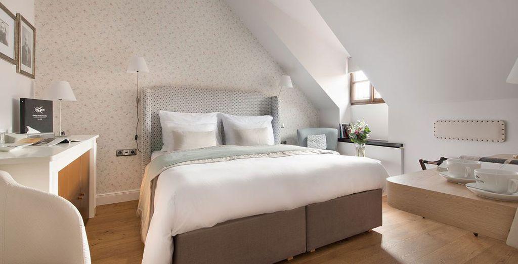 ... oder einem Standard Zimmer