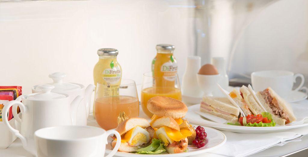 Starten Sie vitaminreich in den Tag mit dem leckeren Frühstücksbuffet