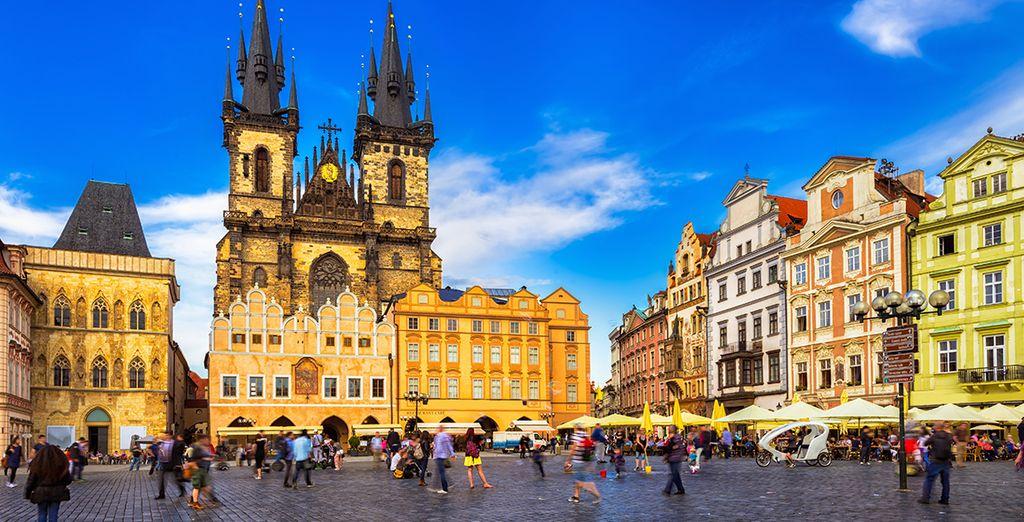 Entdecken Sie die wunderschöne Stadt Prags
