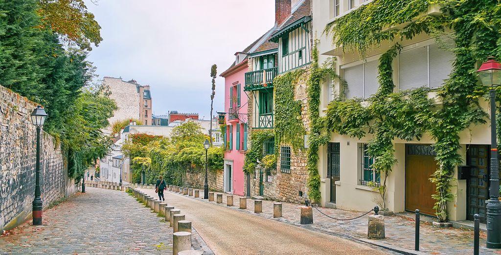 Bevor Sie durch die Strassen von Montmartre schlendern...