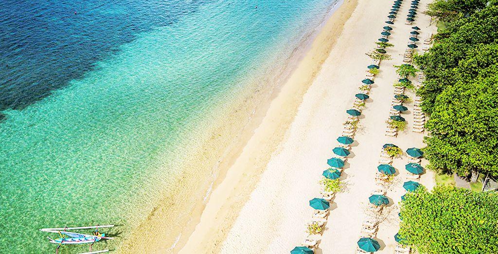 Ein schönes 5 * Hotel direkt am Strand in Sanur