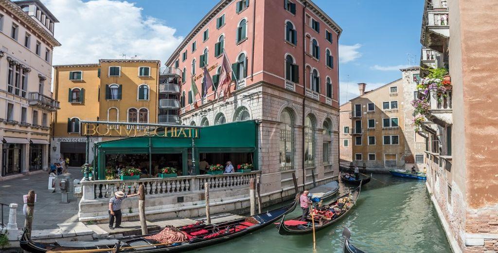 Das Hotel Bonvecchiati begrüßt Sie!