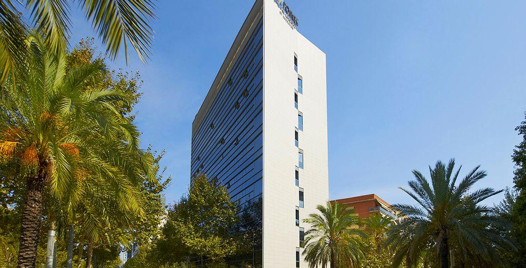 Das Four Points by Sheraton Barcelona Diagonal erwartet Sie