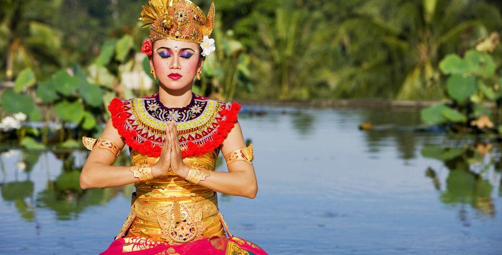 Fliegen Sie nach Indonesien!