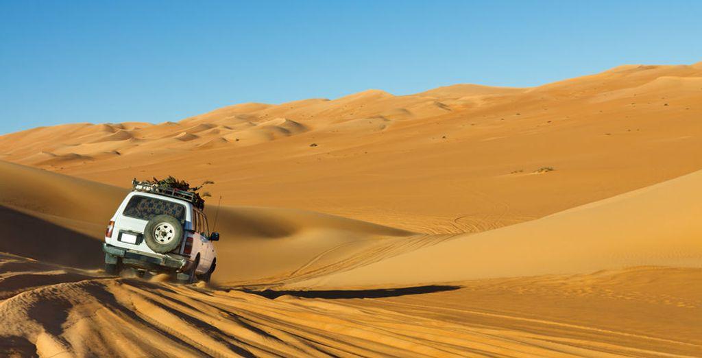 Lassen Sie sich eine Safari in der Wüste nicht entgehen!