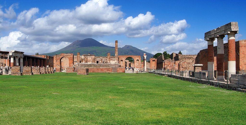 Entdecken Sie die Region um Pompeji und dem Vesuv