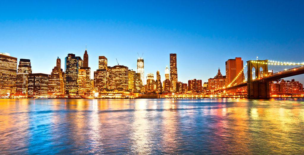Anschließend wartet New York auf Sie