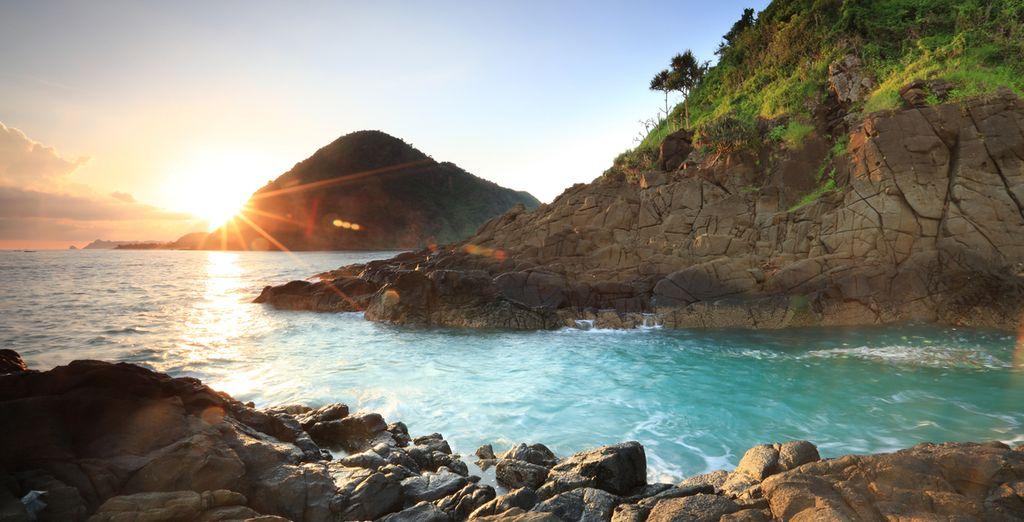 Im Süden von Lombok erwartet Sie der fantastische Selong Belanak Strand