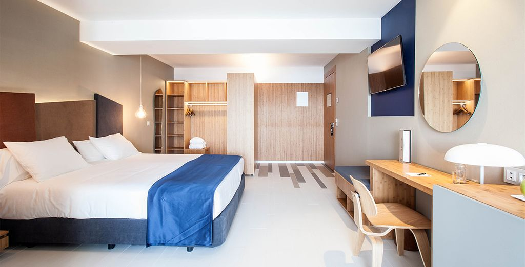 Optional können Sie ein Deluxe Zimmer buchen