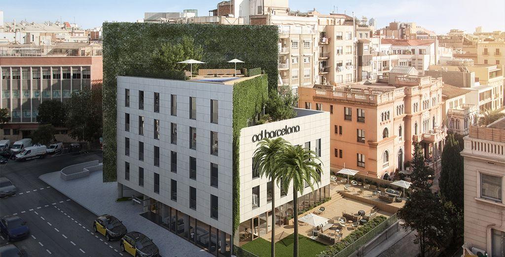 Ein brandneues Design Hotel