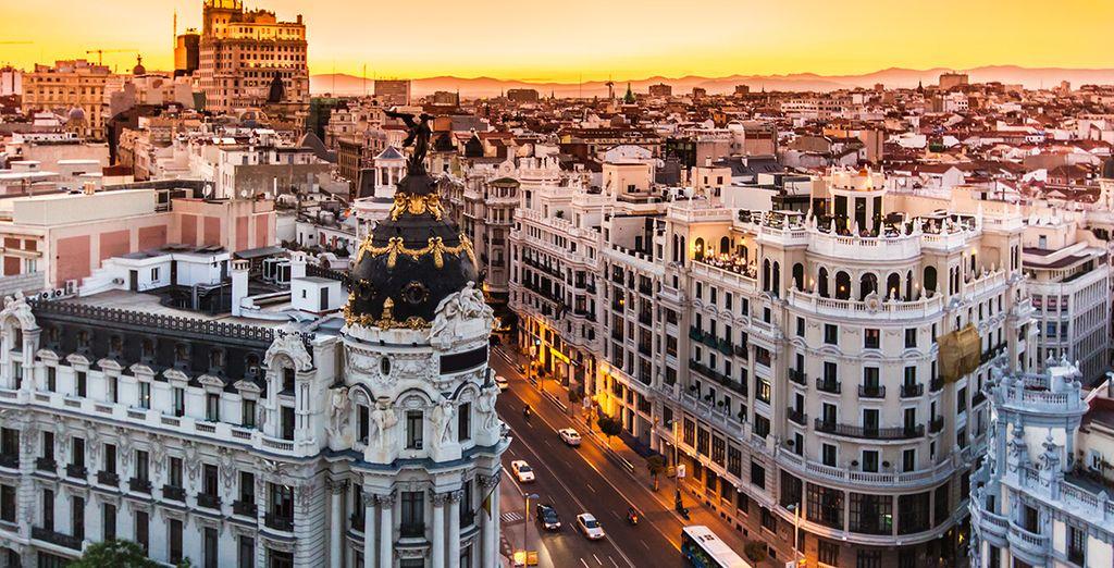 Herzlich willkommen in Madrid!