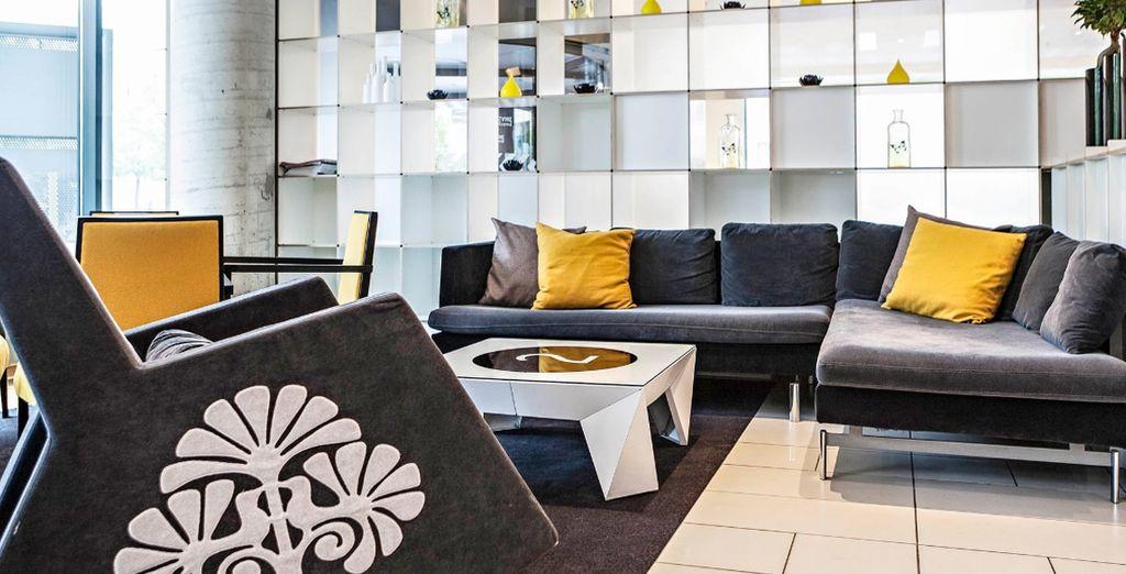 Moderner Komfort im Novotel Vilnius Centre
