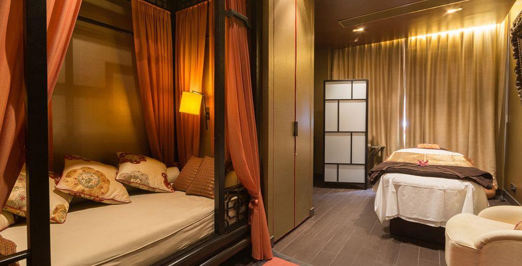 Entspannen Sie in der luxuriösen Spa Suite