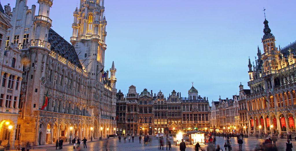 Die Stadt bietet eine fantastische Atmosphäre und Architektur