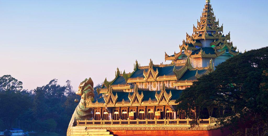 Myanmar wird auch Burma genannt