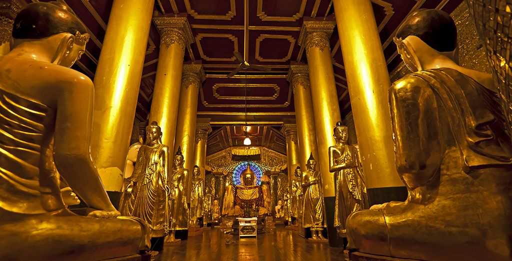 Entdecken Sie Yangon und sein beeindruckendes koloniales und geistiges Erbe