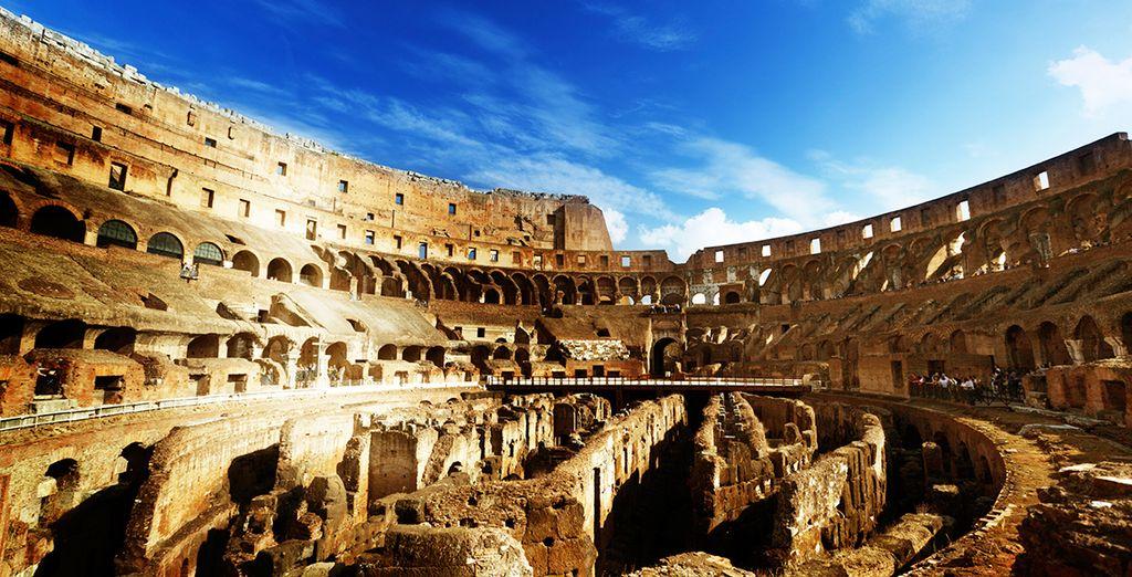 Besichtigen Sie das Kolosseum