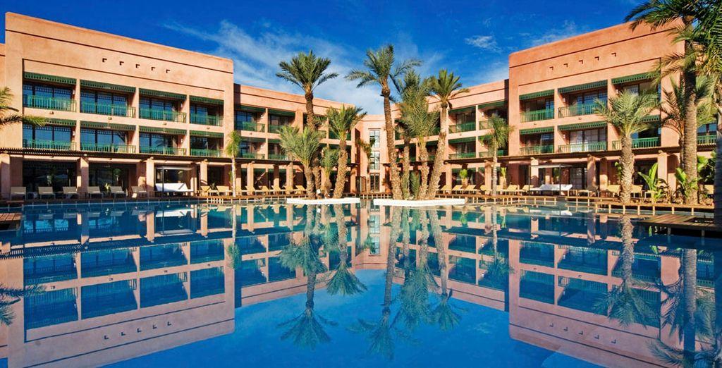 Das Hotel Du Golf Marrakesch empfängt Sie