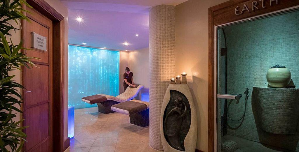 Im Hotel finden Sie einen entspannenden Wellness Bereich