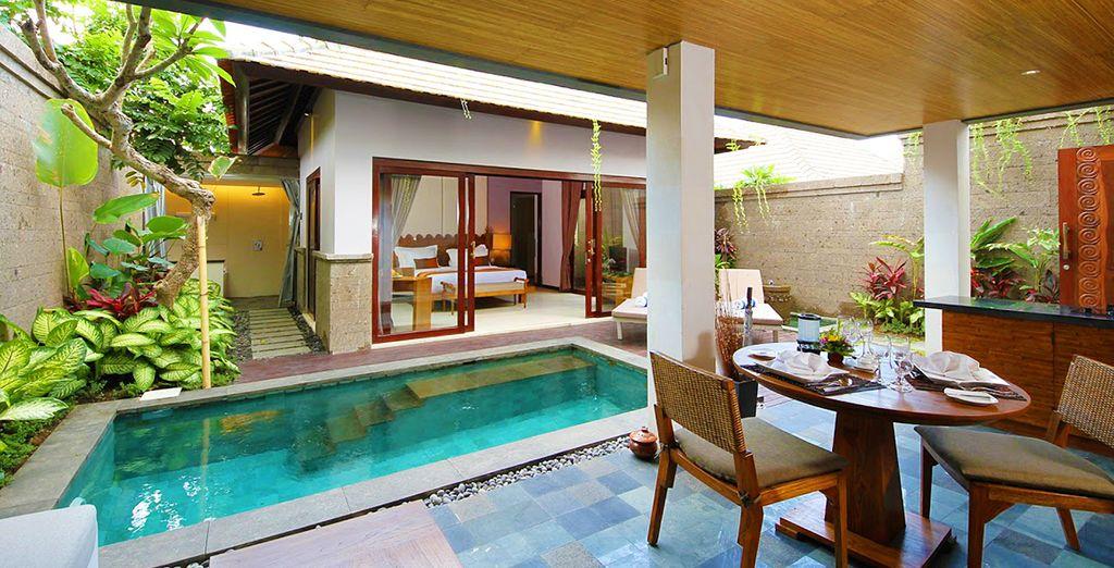 Wo Sie in einer Villa mit privatem Pool übernachten werden