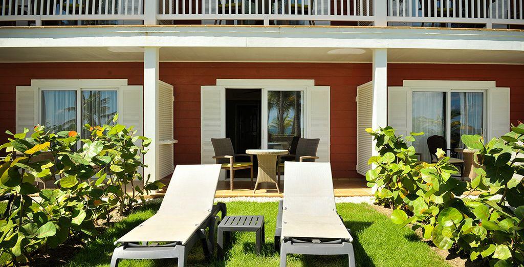 ... je nach Verfügbarkeit genießen Sie ein Upgrade auf ein Superior Sun Deck Zimmer