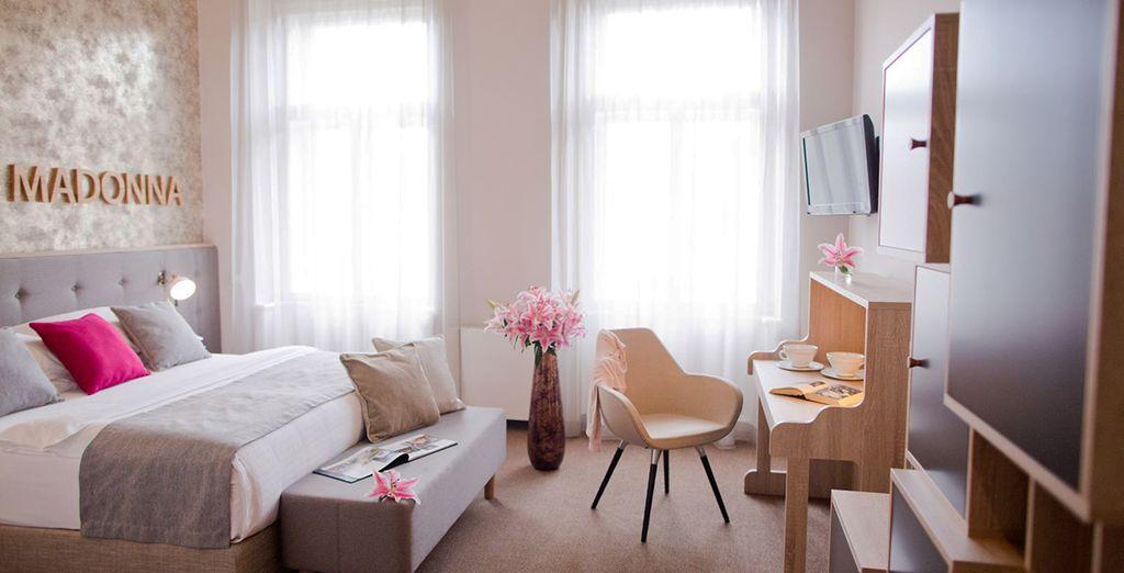 Fühlen Sie sich in Ihrem Deluxe Zimmer wie Zuhause