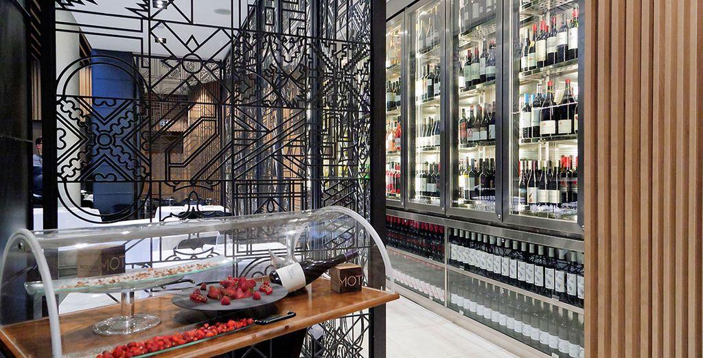 Die Auswahl an guten Tropfen lässt die Herzen der Weinkenner höher schlagen