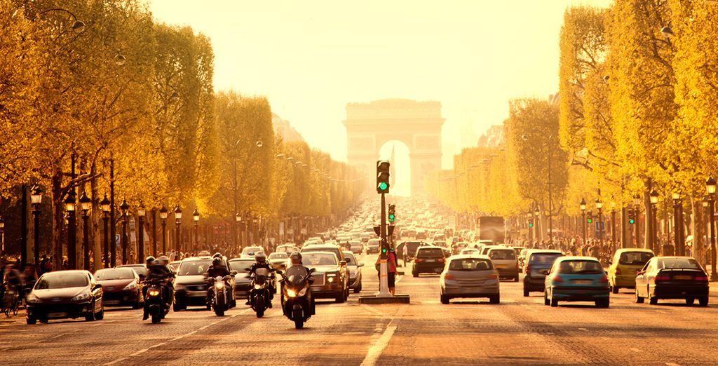 Wir wünschen Ihnen einen wunderschönen Aufenthalt in Paris!