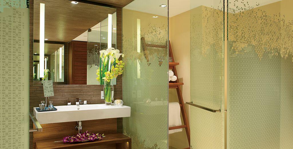 Ihr verglastes Luxus-Badezimmer