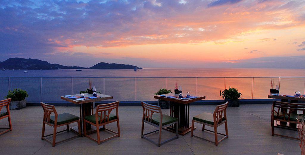Oder lassen Sie sich von unbeschreiblich schönen Sonnenuntergängen verzaubern!