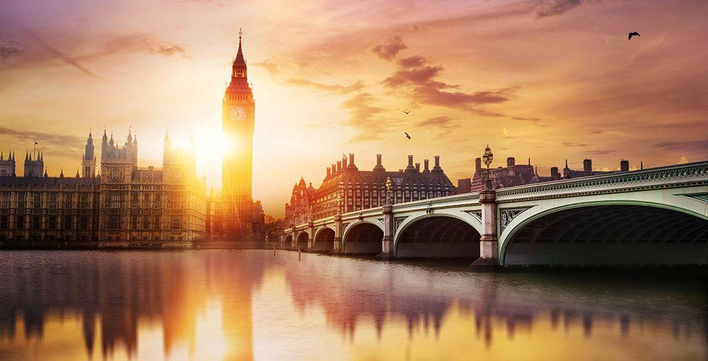 Wir wünschen Ihnen einen schönen Aufenthalt in London!