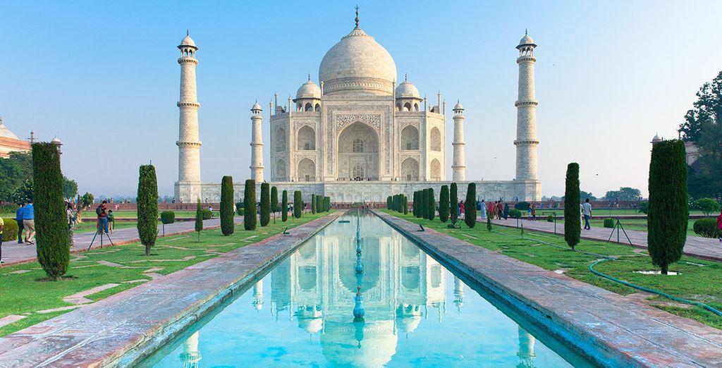 Taj Mahal ist ein Muss jeder Indien-Reise