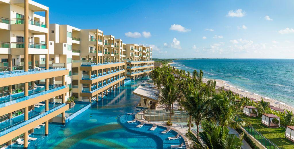 Es erwartet Sie ein ideal gelegenes Resort