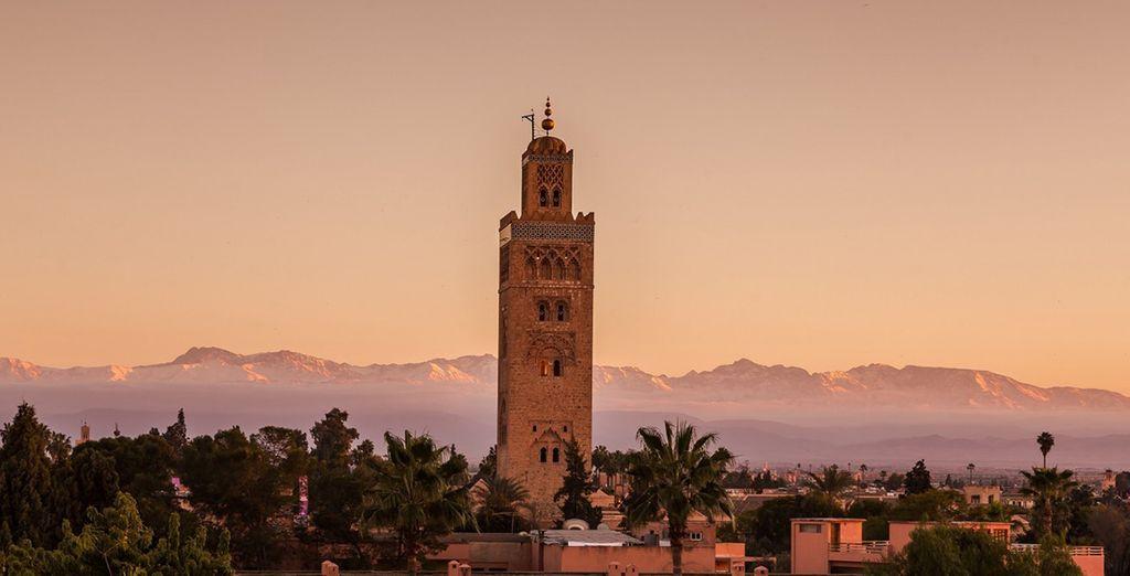 Entdecken Sie die wundervolle Stadt Marrakech
